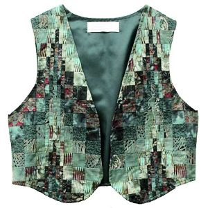 Bargello Vests