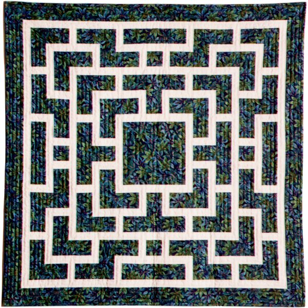 Strip-Pieced Chinese Lattice Designs